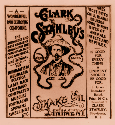 Snake Oil, Self-Empowerment and the Truth About Healing