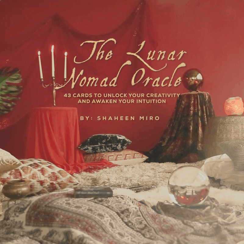 The Lunar Nomad Oracle Book Trailer Video
