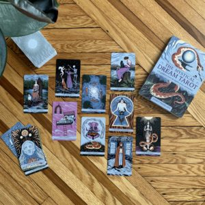 The Mystical Dream Tarot book and deck