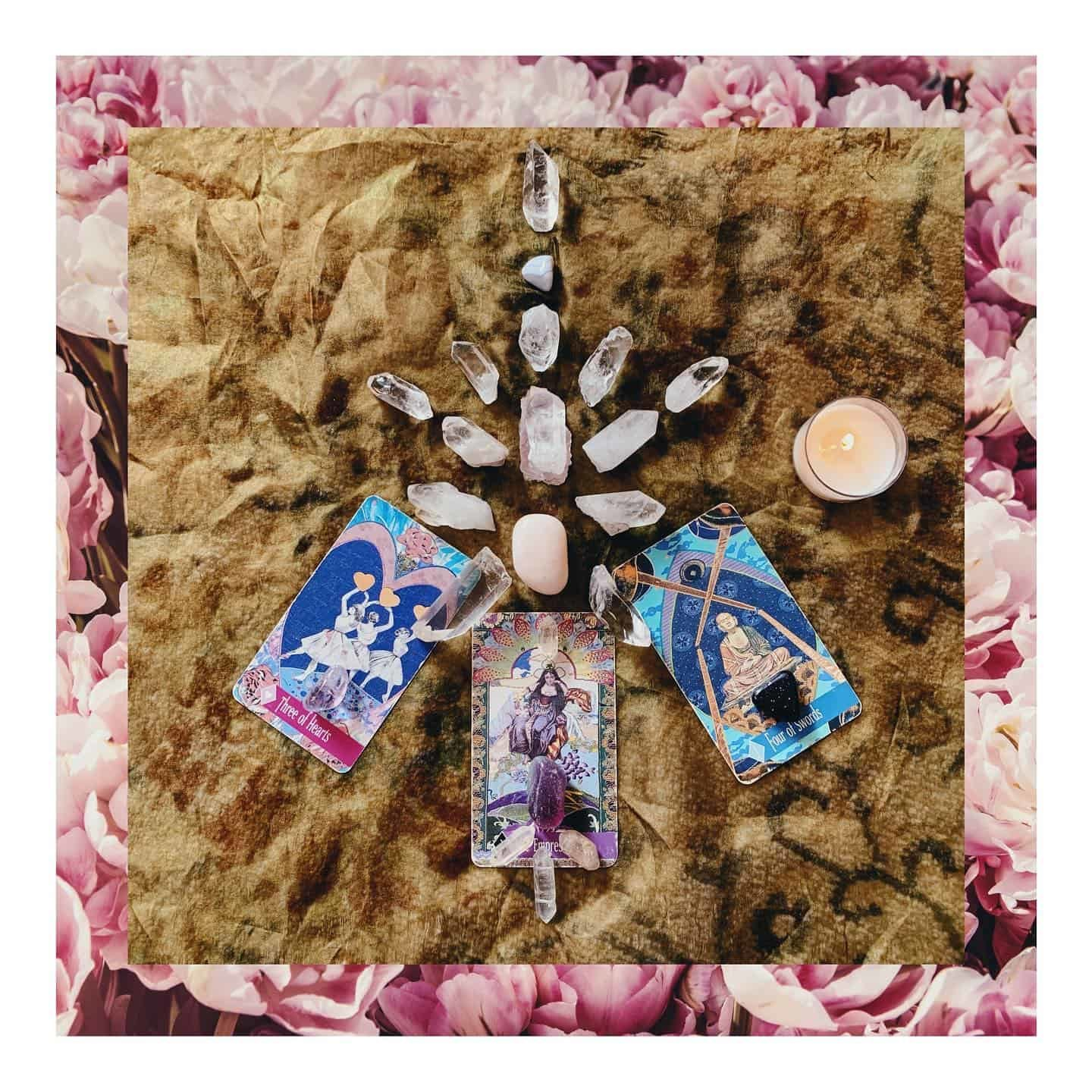 crystal grid for peace and acceptance
